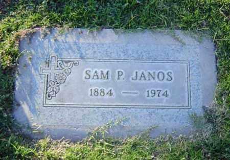 JANOS, SAM PETER - Maricopa County, Arizona | SAM PETER JANOS - Arizona Gravestone Photos