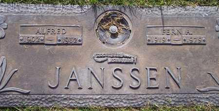 JANSSEN, FERN A. - Maricopa County, Arizona   FERN A. JANSSEN - Arizona Gravestone Photos