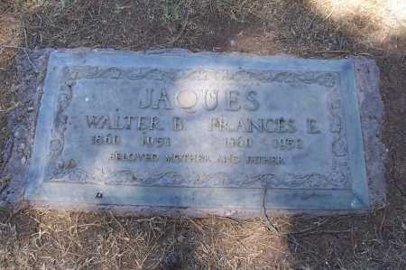 JAQUES, WALTER B. - Maricopa County, Arizona   WALTER B. JAQUES - Arizona Gravestone Photos