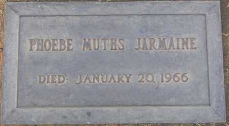 JARMAINE, PHOEBE MUTHS - Maricopa County, Arizona | PHOEBE MUTHS JARMAINE - Arizona Gravestone Photos