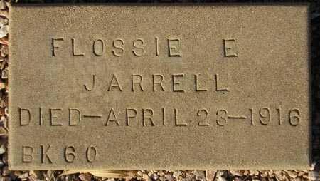 JARRELL, FLOSSIE E. - Maricopa County, Arizona | FLOSSIE E. JARRELL - Arizona Gravestone Photos