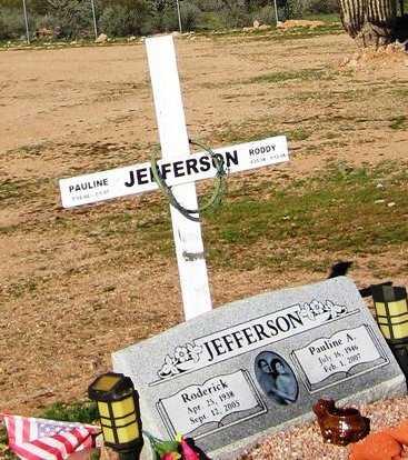 JEFFERSON, PAULINE A. - Maricopa County, Arizona   PAULINE A. JEFFERSON - Arizona Gravestone Photos