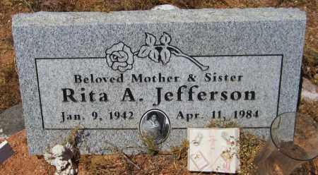 JEFFERSON, RITA A. - Maricopa County, Arizona   RITA A. JEFFERSON - Arizona Gravestone Photos