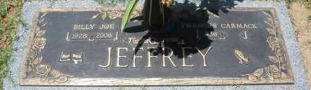 JEFFREY, FRANCES - Maricopa County, Arizona | FRANCES JEFFREY - Arizona Gravestone Photos