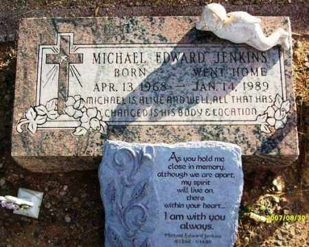 JENKINS, MICHAEL EDWARD (JINX) - Maricopa County, Arizona | MICHAEL EDWARD (JINX) JENKINS - Arizona Gravestone Photos