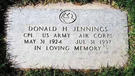 JENNINGS, DONALD H. - Maricopa County, Arizona | DONALD H. JENNINGS - Arizona Gravestone Photos
