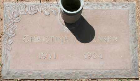 JENSEN, CHRISTINE A. - Maricopa County, Arizona | CHRISTINE A. JENSEN - Arizona Gravestone Photos