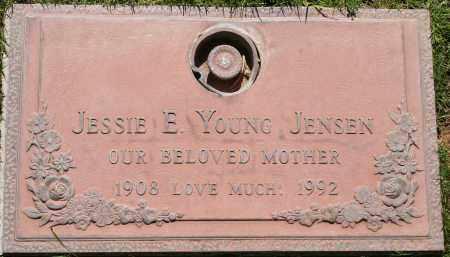YOUNG JENSEN, JESSIE E - Maricopa County, Arizona | JESSIE E YOUNG JENSEN - Arizona Gravestone Photos