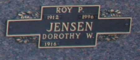 JENSEN, DOROTHY W - Maricopa County, Arizona   DOROTHY W JENSEN - Arizona Gravestone Photos