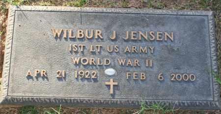 JENSEN, WILBUR J - Maricopa County, Arizona | WILBUR J JENSEN - Arizona Gravestone Photos
