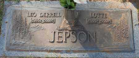 JEPSON, LOTTE - Maricopa County, Arizona   LOTTE JEPSON - Arizona Gravestone Photos