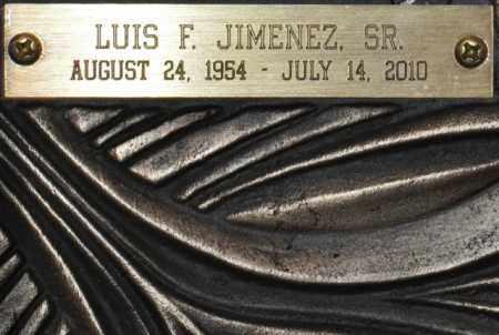 JIMENEZ, LUIS FRANCISCO, SR - Maricopa County, Arizona | LUIS FRANCISCO, SR JIMENEZ - Arizona Gravestone Photos