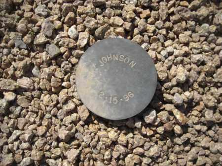 JOHNSON, UNKNOWN - Maricopa County, Arizona | UNKNOWN JOHNSON - Arizona Gravestone Photos
