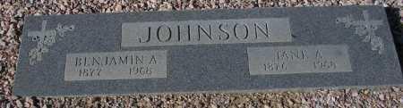 JOHNSON, JANE A. - Maricopa County, Arizona | JANE A. JOHNSON - Arizona Gravestone Photos