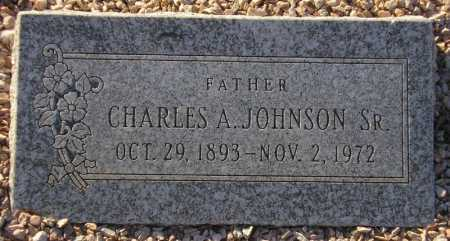 JOHNSON, CHARLES A. - Maricopa County, Arizona | CHARLES A. JOHNSON - Arizona Gravestone Photos