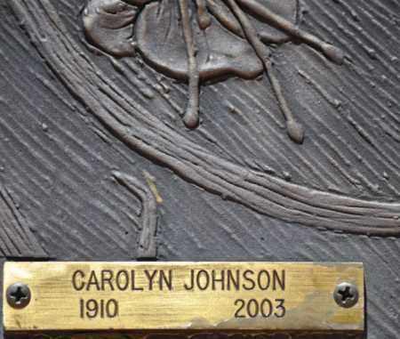 THOMPSON JOHNSON, CAROLYN - Maricopa County, Arizona   CAROLYN THOMPSON JOHNSON - Arizona Gravestone Photos