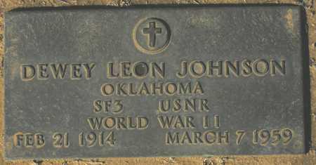 JOHNSON, DEWEY LEON - Maricopa County, Arizona | DEWEY LEON JOHNSON - Arizona Gravestone Photos