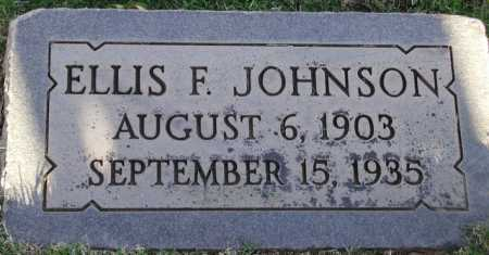 JOHNSON, ELLIS F. - Maricopa County, Arizona   ELLIS F. JOHNSON - Arizona Gravestone Photos