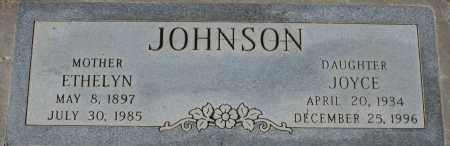 JOHNSON, ETHELYN - Maricopa County, Arizona | ETHELYN JOHNSON - Arizona Gravestone Photos
