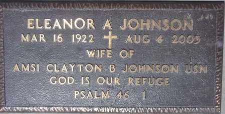JOHNSON, ELEANOR A - Maricopa County, Arizona | ELEANOR A JOHNSON - Arizona Gravestone Photos