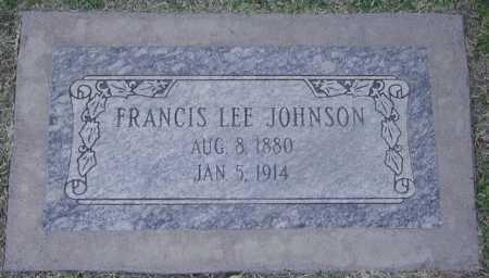 JOHNSON, FRANCIS LEE - Maricopa County, Arizona | FRANCIS LEE JOHNSON - Arizona Gravestone Photos