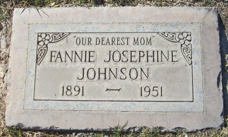 JOHNSON, FANNIE JOSEPHINE - Maricopa County, Arizona | FANNIE JOSEPHINE JOHNSON - Arizona Gravestone Photos