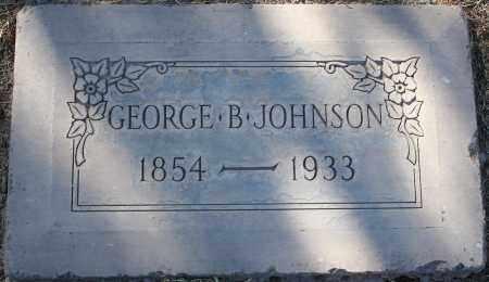 JOHNSON, GEORGE BALTIMORE - Maricopa County, Arizona | GEORGE BALTIMORE JOHNSON - Arizona Gravestone Photos