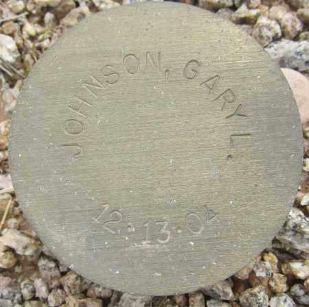 JOHNSON, GARY L. - Maricopa County, Arizona   GARY L. JOHNSON - Arizona Gravestone Photos
