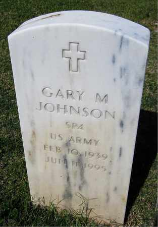 JOHNSON, GARY M. - Maricopa County, Arizona | GARY M. JOHNSON - Arizona Gravestone Photos