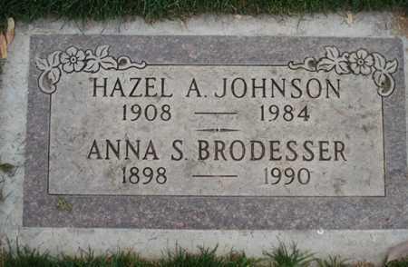 JOHNSON, HAZEL A. - Maricopa County, Arizona | HAZEL A. JOHNSON - Arizona Gravestone Photos