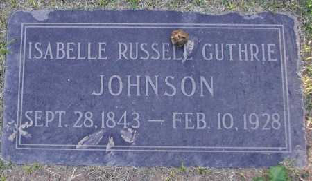 GUTHRIE JOHNSON, ISABELLA RUSSELL - Maricopa County, Arizona | ISABELLA RUSSELL GUTHRIE JOHNSON - Arizona Gravestone Photos