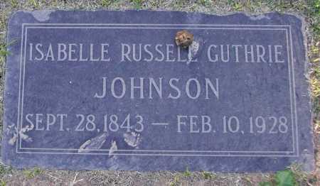 JOHNSON, ISABELLA RUSSELL - Maricopa County, Arizona | ISABELLA RUSSELL JOHNSON - Arizona Gravestone Photos