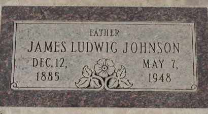 JOHNSON, JAMES LUDWIG - Maricopa County, Arizona | JAMES LUDWIG JOHNSON - Arizona Gravestone Photos