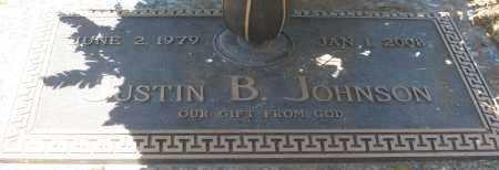JOHNSON, JUSTIN B. - Maricopa County, Arizona   JUSTIN B. JOHNSON - Arizona Gravestone Photos