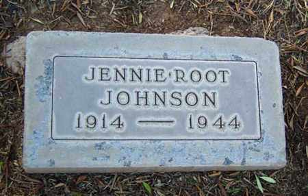 ROOT JOHNSON, JENNIE - Maricopa County, Arizona | JENNIE ROOT JOHNSON - Arizona Gravestone Photos