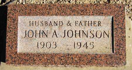 JOHNSON, JOHN A. - Maricopa County, Arizona | JOHN A. JOHNSON - Arizona Gravestone Photos