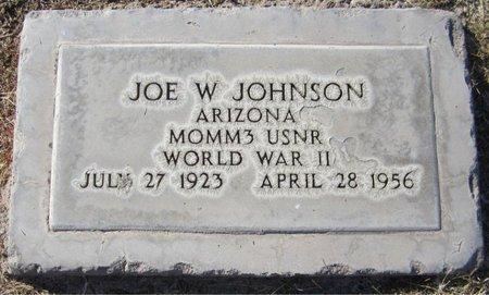 JOHNSON, JOE W. - Maricopa County, Arizona | JOE W. JOHNSON - Arizona Gravestone Photos