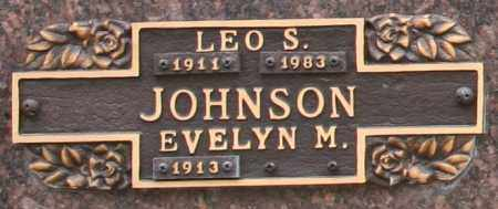 JOHNSON, LEO S - Maricopa County, Arizona | LEO S JOHNSON - Arizona Gravestone Photos