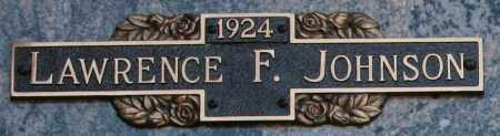 JOHNSON, LAWRENCE F - Maricopa County, Arizona | LAWRENCE F JOHNSON - Arizona Gravestone Photos