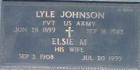 JOHNSON, ELSIE M - Maricopa County, Arizona | ELSIE M JOHNSON - Arizona Gravestone Photos