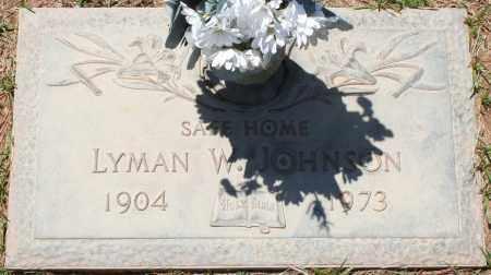 JOHNSON, LYMAN W. - Maricopa County, Arizona | LYMAN W. JOHNSON - Arizona Gravestone Photos
