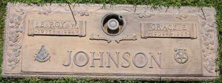 JOHNSON, GRACE E - Maricopa County, Arizona | GRACE E JOHNSON - Arizona Gravestone Photos