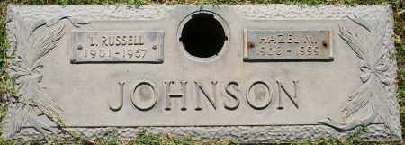 JOHNSON, HAZEL M - Maricopa County, Arizona | HAZEL M JOHNSON - Arizona Gravestone Photos