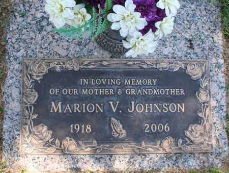 ETHINGTON JOHNSON, MARION VIRGINIA - Maricopa County, Arizona | MARION VIRGINIA ETHINGTON JOHNSON - Arizona Gravestone Photos
