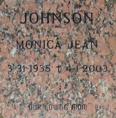 JOHNSON, MONICA JEAN - Maricopa County, Arizona   MONICA JEAN JOHNSON - Arizona Gravestone Photos