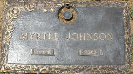 JOHNSON, MYRTLE - Maricopa County, Arizona   MYRTLE JOHNSON - Arizona Gravestone Photos