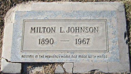 JOHNSON, MILTON L. - Maricopa County, Arizona | MILTON L. JOHNSON - Arizona Gravestone Photos