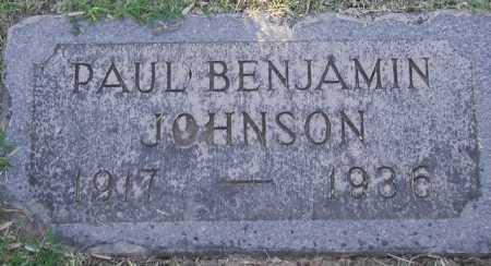 JOHNSON, PAUL BENJAMIN - Maricopa County, Arizona   PAUL BENJAMIN JOHNSON - Arizona Gravestone Photos