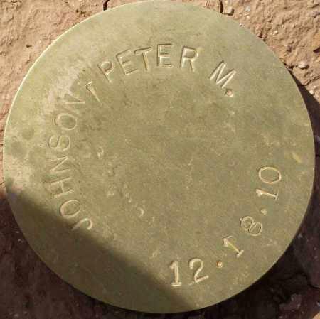 JOHNSON, PETER M. - Maricopa County, Arizona | PETER M. JOHNSON - Arizona Gravestone Photos