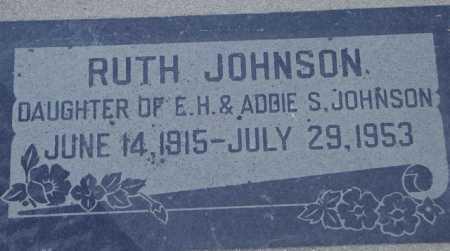 JOHNSON, RUTH - Maricopa County, Arizona | RUTH JOHNSON - Arizona Gravestone Photos